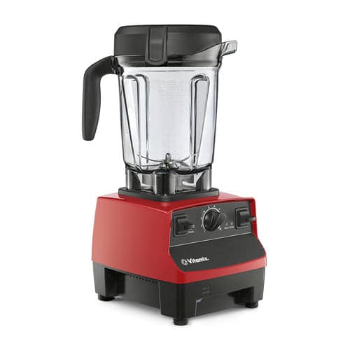 Vitamix 5300 Low-Profile Blender, Professional-Grade, Self-Cleaning 64 oz. Container, Red