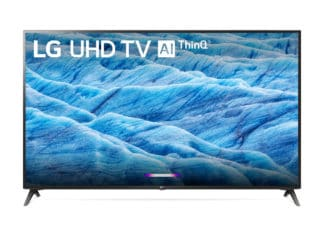 For A Limited Time, There's An Amazing Deal On A 70 LG 4K 2160p TV