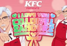 We will soon be Blessed by a KFC Published Colonel Sanders Dating Simulator