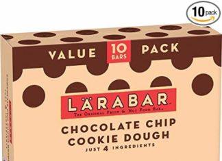 Deal Review 10 Count Gluten-Free, Vegan, Dairy Free Larabar Snack Bars (Chocolate Chip Cookie Dough, Apple Pie or PB&J)