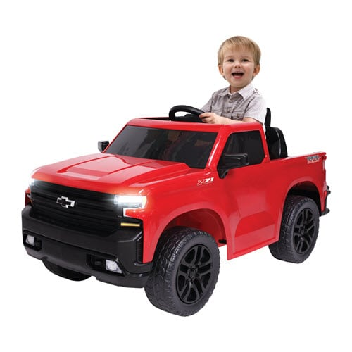 Deal Review KALEE 6V Chevy Silverado Pick-Up Truck Ride On Toy Car