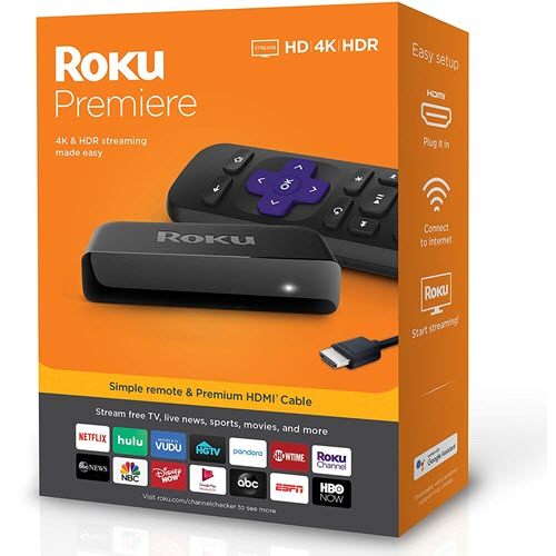 Deal Review Roku Premiere HD 4K HDR Streaming Media Player