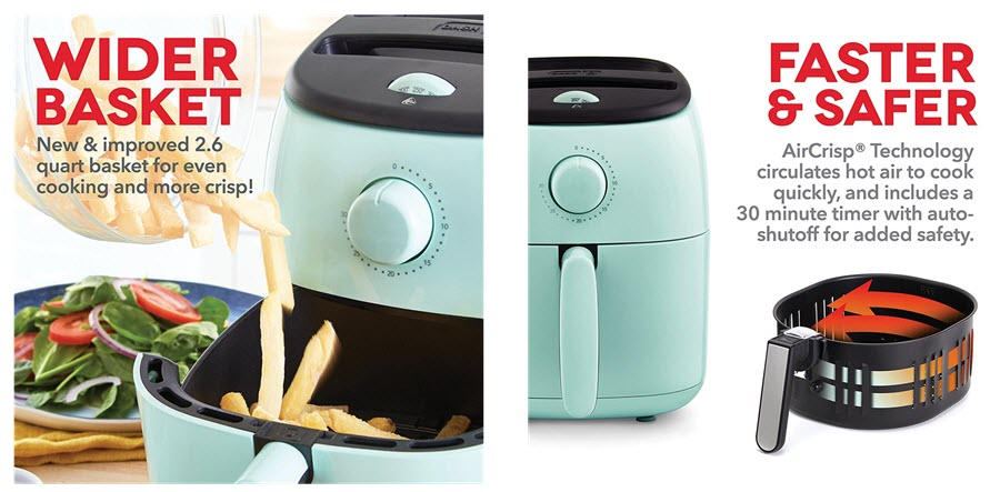 Dash Tasti Crisp Electric Air Fryer