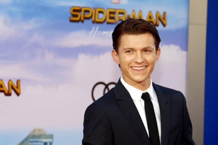 Tom Holland at the World premiere of 'Spider-Man: Homecoming' held at the TCL Chinese Theatre in Hollywood, USA on June 28, 2017. - Credit: Shutterstock