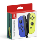 Nintendo Switch Blue Neon Yellow Joy-Con